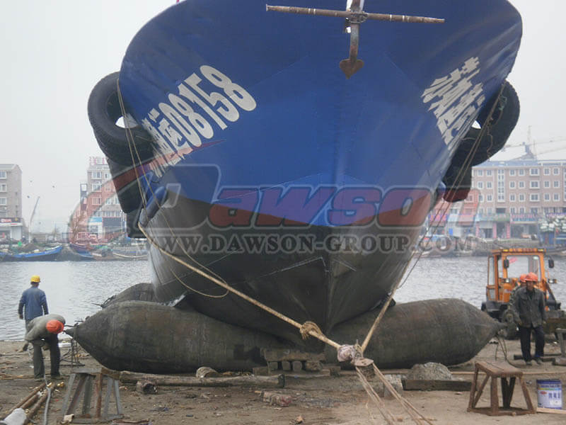 Application of Ship Launching Airbags - China Factory
