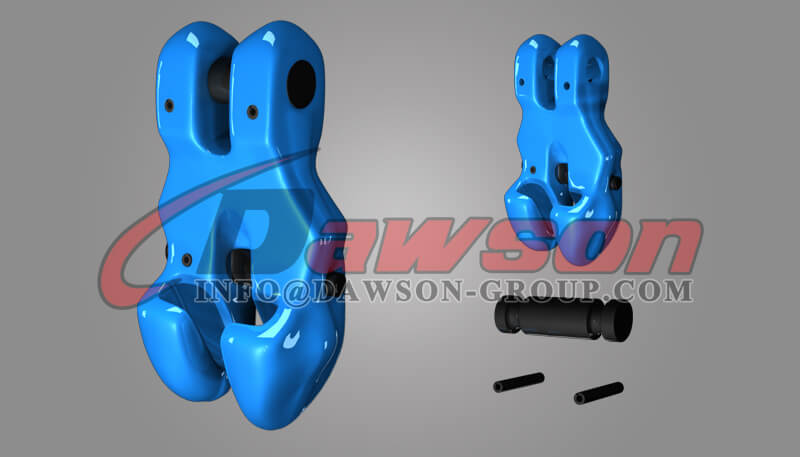 G100 Forged Alloy Steel Clevis Chain Clutch with Safety Pin for Adjust Chain Length - Dawson Group Ltd. - China Supplier