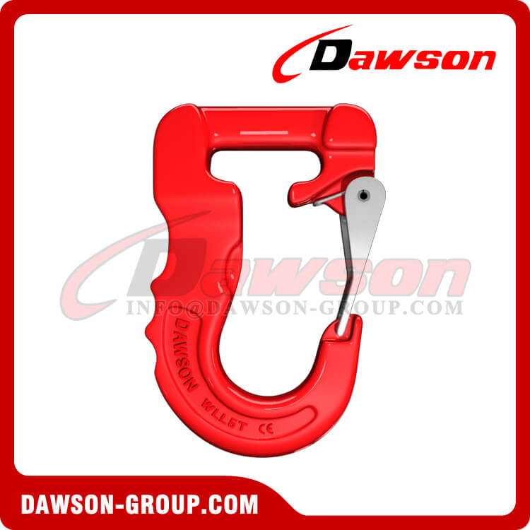 Grade 100 Web Sling Hook, Synthetic Alloy Round Sling Hook 5T - Dawson Group Ltd. - China Supplier