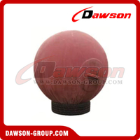 Mooring Spherical Steel Buoy / Marine Steel Floating Sphere Sharp Boat Buoy