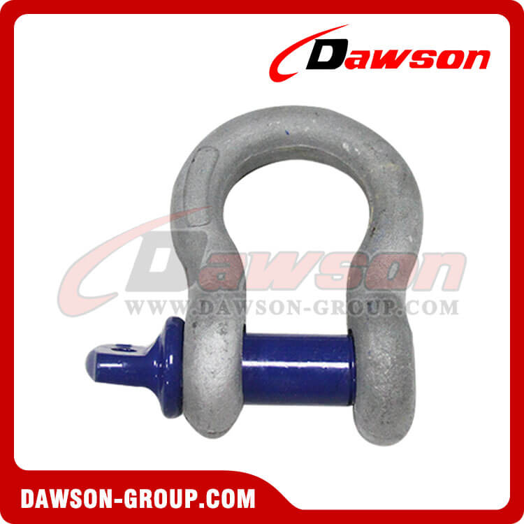Alloy Steel US Type Bow Shackle with Screw Pin