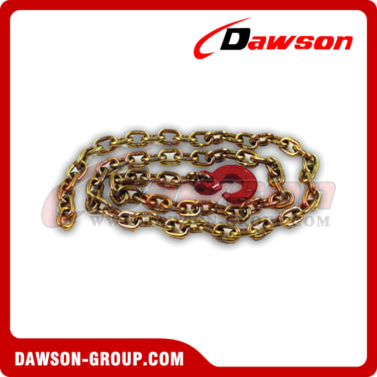 G70 Logging Chian Choker, Grade 70 Logging Chain Chokers with Clevis Forest Hook - China Supplier, Factory