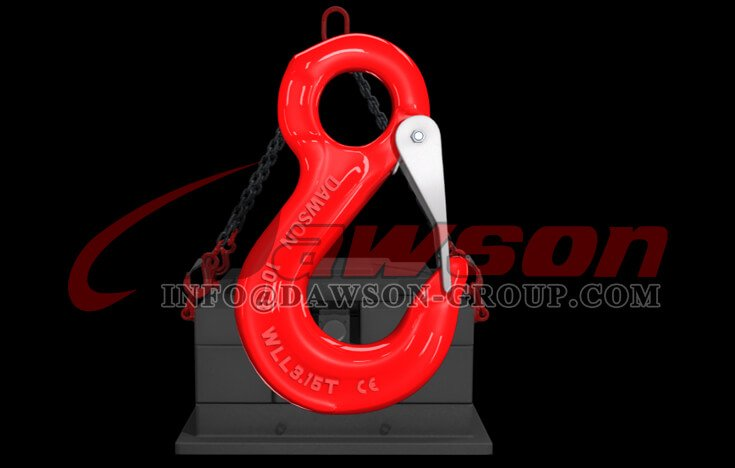 Application of G80 Eye Sling Hook with Cast Latch for Lifting Chain Slings - Dawson Group Ltd. - China Manufacturer