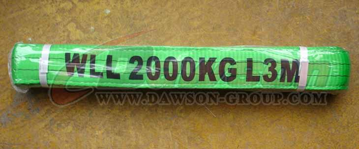 WLL 2 Ton Polyester Webbing Slings - Lifting Slings - China Dawson Supplier, Factory