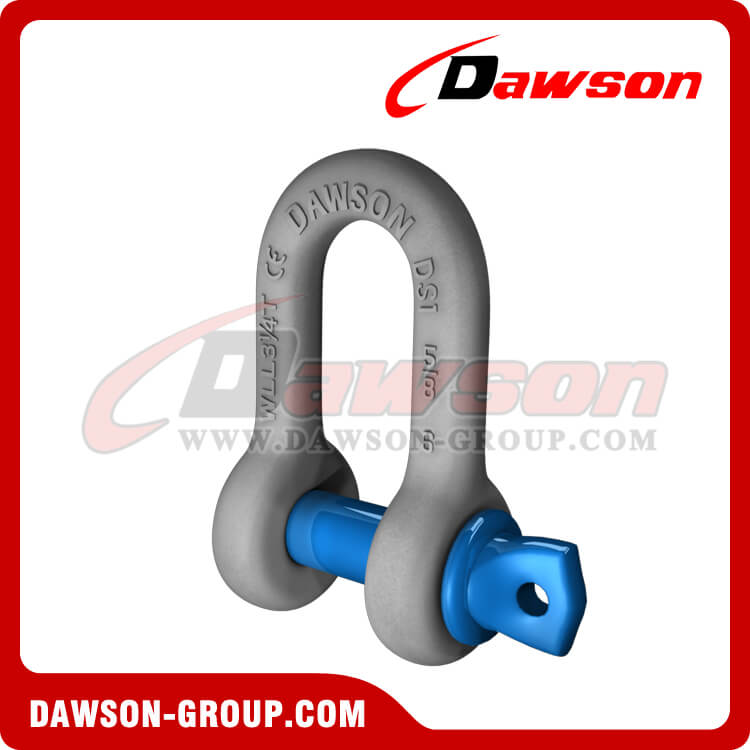 Dawson Brand Hot Dip Galvanized US Type Chain Shackle with Screw Pin