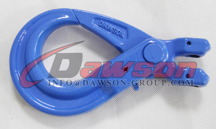 G100 European Type Forged Clevis Self-Locking Hook for Lifting Chain Slings - Dawson Group Ltd. - China Supplier