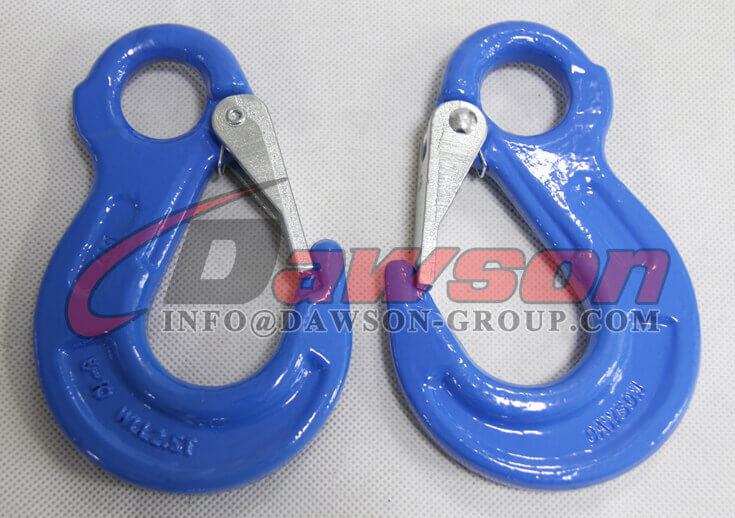 Grade 100 Eye Sling Hook with Latch for Chain Slings - Dawson Group Ltd. - China Exporter