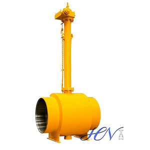 Underground Type Stem Extended Fully Welded Body Ball Valve