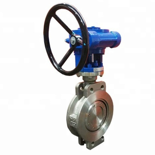 Wafer Type Gear Operated Triple Eccentric Butterfly Valve