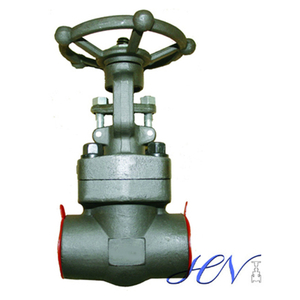 A105N Carbon Steel Solid Central Heating Gate Valve