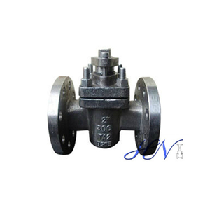 Titanium Alloy Steel Flanged Quarter Turn Plug Valve