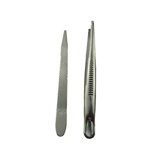 frist aid disposable medical plastic tweezer thumb dressing forceps bayonet forceps