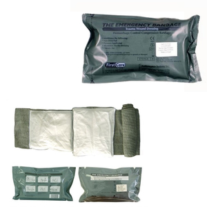 Medical disposable Emergency Trauma Bandage with cotton pad to stop bleeding