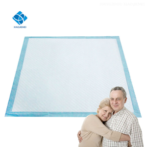 17x36 Inch Disposable Biodegradable Organic Adult Urine Absorbent Quilting Underpad with Odor Control