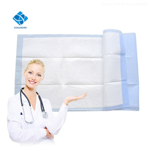 Disposable Deluxe Super Absorbent Blue Adult Incontinence Hospital Medical Underpad