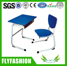 Cheap classroom single study student desk and Chair(SF-61S)