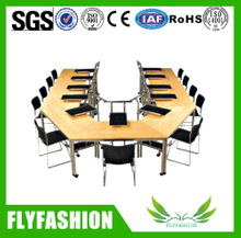 Good quality school training furniture table and chair
