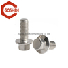 m12 1.25 x 40 stainless steel full thread hex head flange bolts for wood
