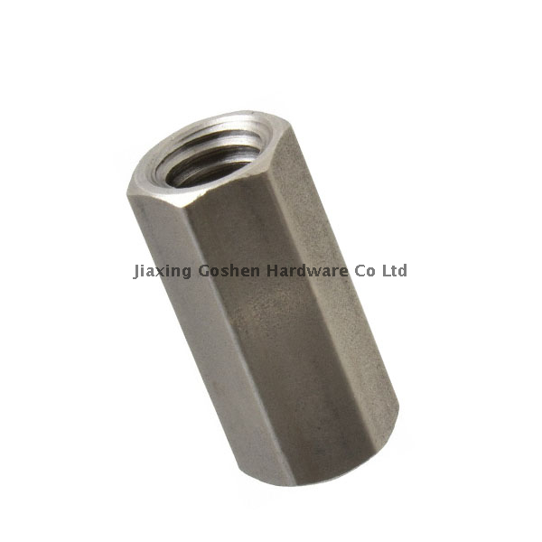 DIN6334 metric stainless steel316 hex Coupling nuts