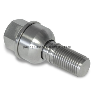 m14 x 1.5 high quality stainless steel car wheel bolts