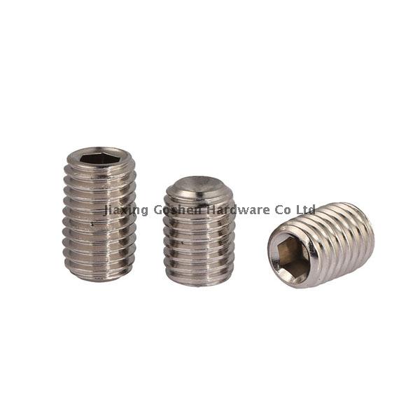 metric 316 stainless steel hex socket head set screws from
