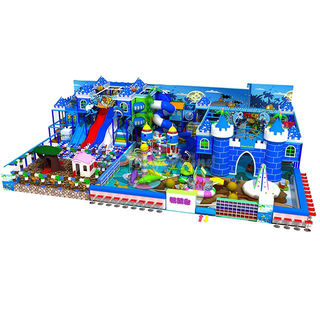 Castle Theme Kids Soft Indoor Playground with Toddler Area