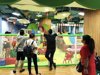Jungle theme indoor playground (2)