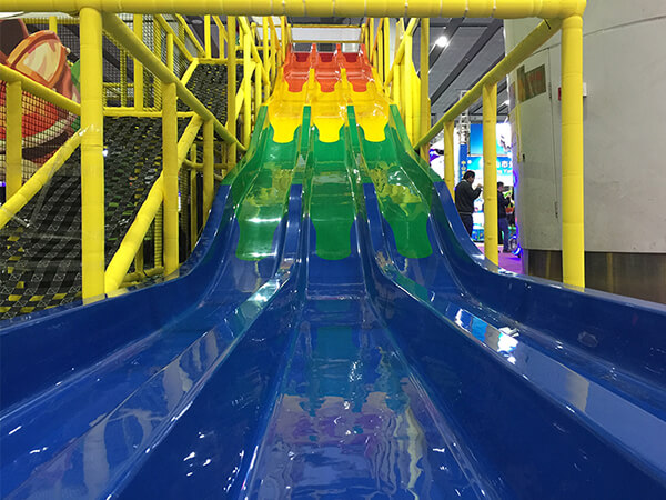 What play equipment should i install on soft indoor playground?