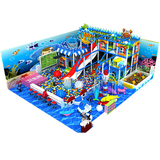 Ocean Theme Park Commercial Soft Play Equipment for Children