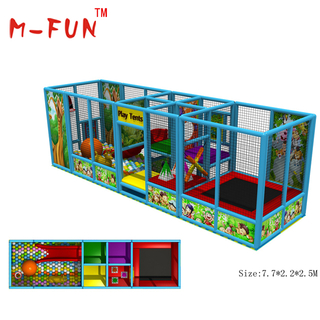 mini modular indoor kids soft playgrounds