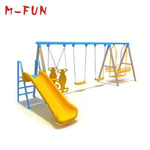 Kids Plastic Swing-n-Slide