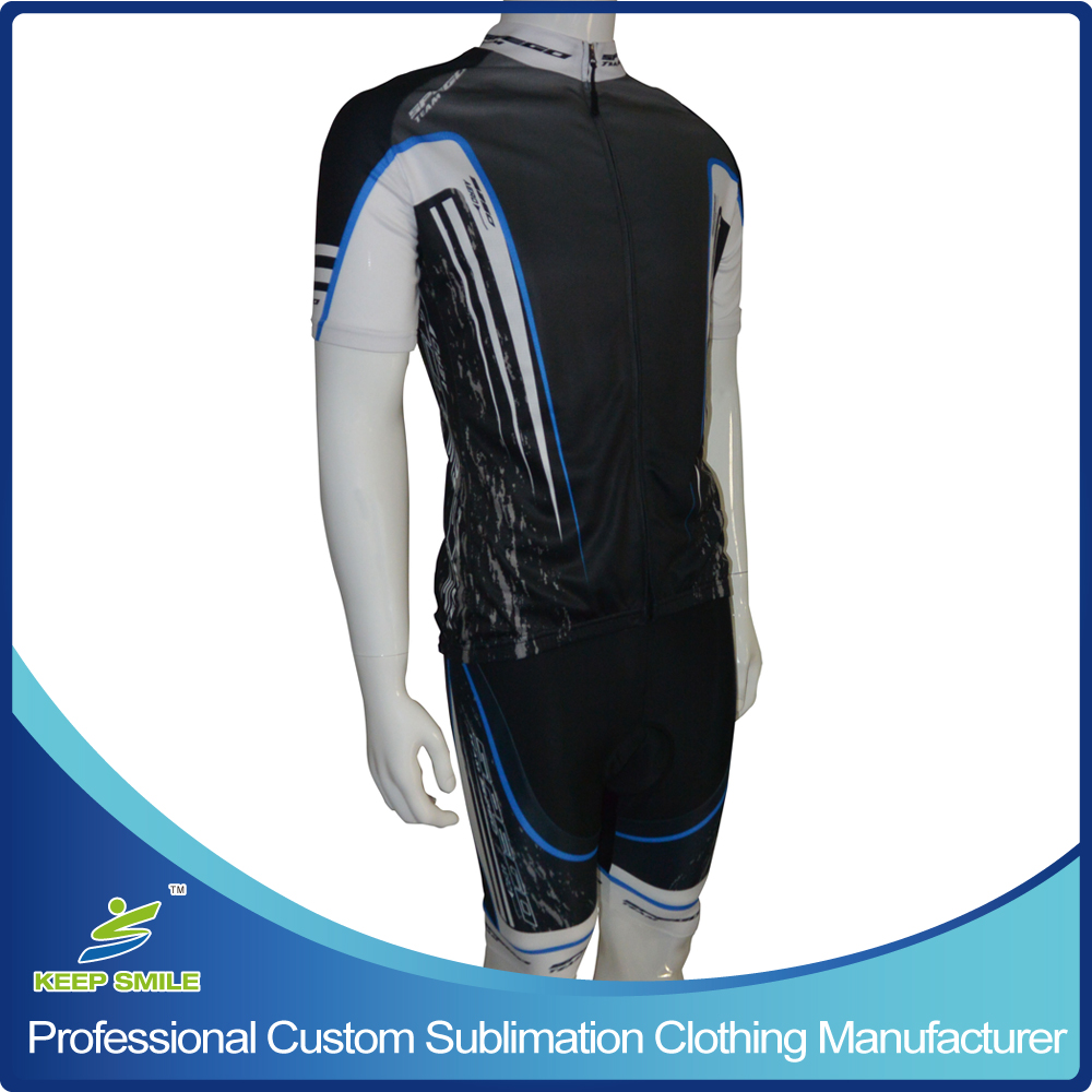 Custom Sublimation Printing Cycling Wear