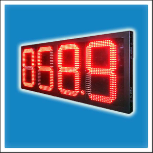 HTD-GP16 16 Inches Digit LED Petrol Station Price Changer Display Board
