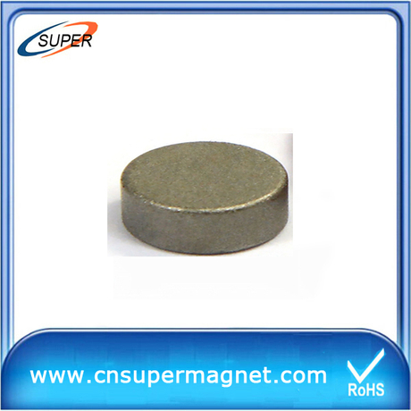 High Quality D30*10mm SmCo Permanent Magnet
