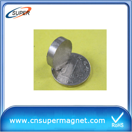 2015 Popular D8*2mm SmCo Permanent Magnet
