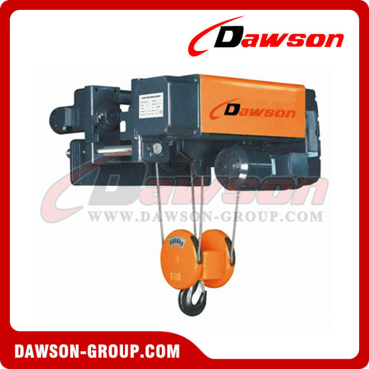 Low Headroom Electric Wire Rope Hoist For Wire Rope Hoist, trolley ...