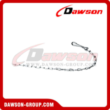 Double Loop Chain Style Animal Chain