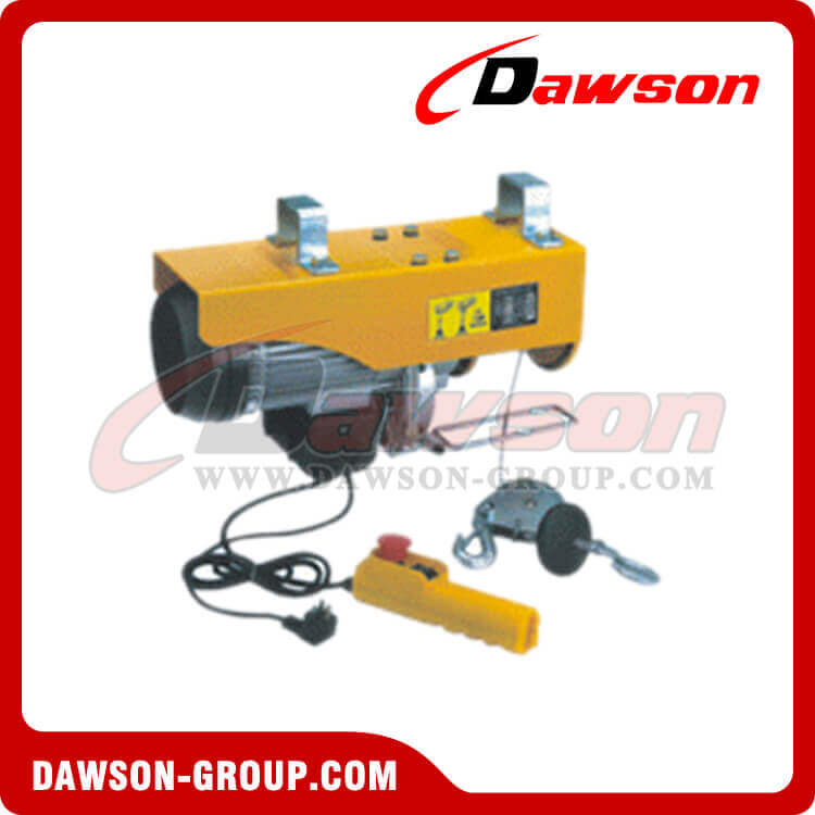 MINI ELECTRIC WIRE ROPE HOIST DS-EWH Type - Dawson Group Ltd. - China Manufacturer, Supplier, Factory, Exporter