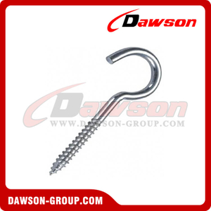 Screw Hook Zinc Plated