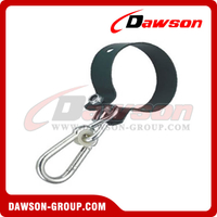 Collar Hook With Snap Hook Zinc Plated