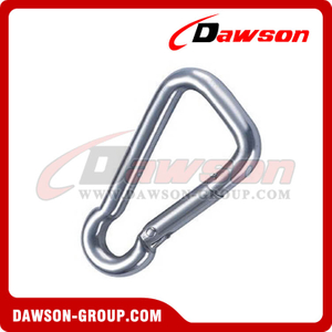 Oblique Angle Snap Hook with Zinc Plated