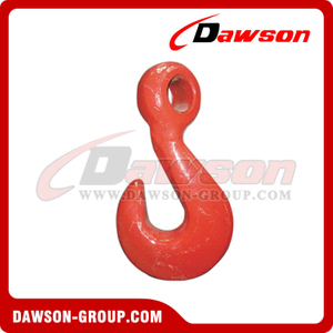 DS232 G80 Forged Alloy Steel Eye Twist Hook for Lashing and Pulling