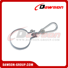 Stainless Steel Collar Hook with Snap Hook