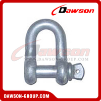 US Type Commercial Chain Shackle with Screw Pin