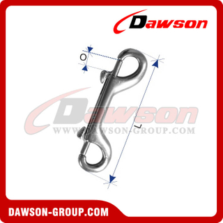 Stainless Steel Snap Hooks, Electric Galvanized Snap Hook