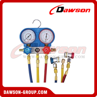 "DSHS-C1051A Cooling Repair Tools R134A A/C Manifold Gauge Set (60"",adjustable)"
