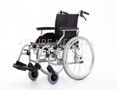 YJ-037C Muti-Functional Light Weight Steel Manual Wheelchair