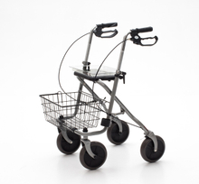 YJ-4200G Four Wheels with Basket Steel Rollator