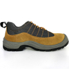Anti Slip Suede Leather Cheap Safety Work Shoes Steel Toe Cap