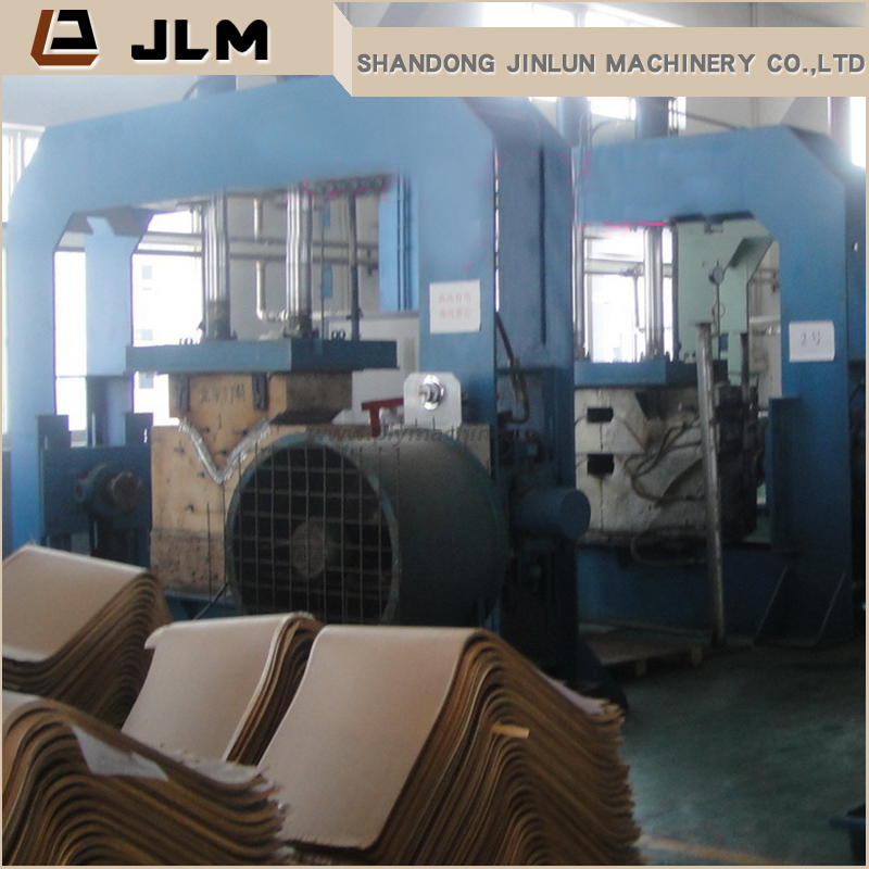 HF plywood curved hot press machine